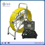 60m / 120m Fiberglass Cable 40mm Pipe Chimney Inspection Camera
