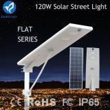 100W 120W 3years Warranty Integrated Solar Street Light