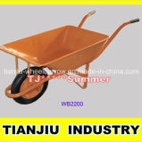 Names Agricultural Tools 58L Wheel Barrow Wb2200 for Malaysia Market