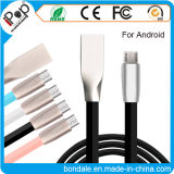 Data Cable Fast Charge USB Charger Cable 2A Line Stainless Steel Interface for Android Smartphone