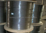 Ss304; Not Magnetic Stainless Steel Wire Rope-6*19+PP-9.3mm