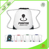 Clear PVC Backpack Bag Clear Drawstring Bag with Logo