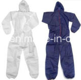 Disposable Coverall, with Hood, Customized Designs Are Accepted