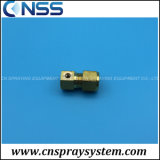 End Plug Compression Fitting with One Nozzle
