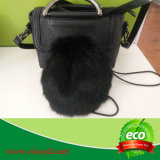 Soft and Smooth Genuine Rabbit Fur Pouch