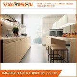 Solid Wood Veneer Economic Design Kitchen Cabinet
