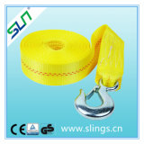 Cargo Strap with Double Hooks and Safety Factor 7: 1 Sln Ce GS