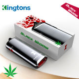 Kingtons Black Widow New Dry Herb Vaporizer Pen with 3 in 1 Caps