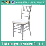 Silver Resin Chiavari Chair for Events