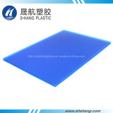 Twin-Wall Frosted Polycarbonate Roofing Sheet with 10 Years Warranty