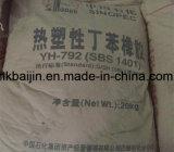 SBS rubber ---Styrene Butadiene Styrene Rubber granules