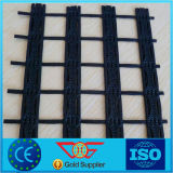 High Strength Polyester Geogrid Pet Geogrid Coated with Water Soluble PVC