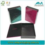 Printed Artpaper Glossy Lamination Handmade Magnet Closure Custom Hinged Box