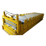 Double-Deck Galvanized Steel Sheet Roll Forming Machine