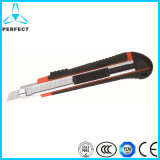 Soft Handle Stainless Steel Auto Lock Alloy Utility Knife