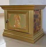 Cremation Funeral Urn Aluminum Alloy Ashes Casket Urn