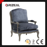Orizeal Home Furniture Antique French Style Cane Back Chair (OZ-SW-005)