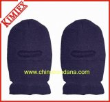 100% Acrylic Winter Warm Knitted Ski Bandit Hat