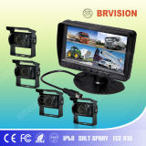 7inch 4CH Quad Rear View System with 120 Degaree Camera