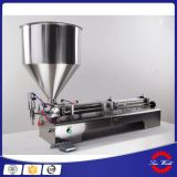 Double-Nozzle Semi Automatic Filling Machine Cream Paste Filler
