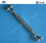 Stainless Steel European Type Open Body Turnbuckle Fork and Fork