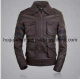 Motorcycle Suit, Men's Safety Waterproof PU Leather Jacket