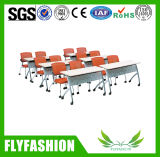 School Furniture Foldable Table and Cahir (SF-51D)