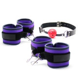Hot Sex Position Bdsm Training Fetish Sex Toy Handcuff Mouth Ball Gag Harness