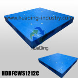 Heavy Duty Stackable Plastic Pallet 1200X1200X150mm with Closed Deck
