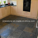 Black Slate Floor Tile for Kitchen or Bathroom