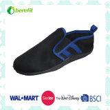 Black and Blue Upper Design, Aqua Shoes