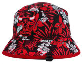fashion Floral Bucket Hat with Adjustable Size