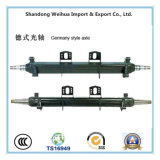 China Axle Tube Germany Style, Trailer Parts, Truck Spare Parts