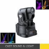 Stage Equipment 15W Mini Moving Head LED Spot Housing