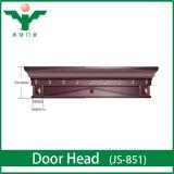 Luxuriously Villa Copper Entry Door Header