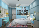 Customized Wooden Wardrobe with Melamine Particle Board