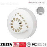 Smoke and Heat Detector with 4-Wire