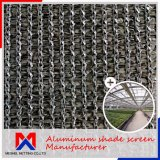 Shade Rating 55%~99% Outside Aluminum Shade Screen for Control Temperature