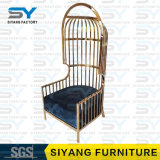 Hotel Furniture King Throne Chair Stainless Steel Leisure Chair