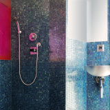 Luxury Blue Glass Square Mosaic Tiles