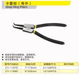 Cy-1186D 1187D 1189d Snap Ring Pliers (External Bent Tip)
