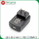 Wall Mount Black 5V 1A 1.2A 1.5A 2A Universal Travel Charger