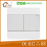 Two Gang Two Way Wall Electrical Light Switch