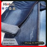 Super Dark Blue Cotton Lycra Stretch Jean Fabric with Mercerized