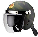 ABS Riot Control Police Helmet with Visor