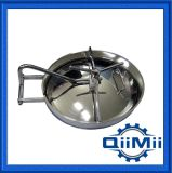 Ss304 Ss316L Sanitary Stainless Steel Oval Tank Door Manhole Cover