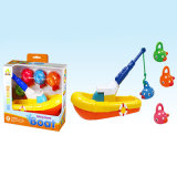 Plastic Toys Cute Fishing Game for Children (H9327091)