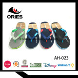 Double Color PVC Upper Man EVA Slippers Popular in Europe