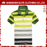 Wholesale Prices Stripes Polo Shirts 100% Cotton (ELTPSI-6)