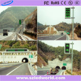 Outdoor High Brightness Full Color Fixed LED Traffic Sign P16